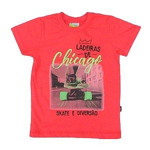 Camiseta Chicago skate e diversão Tamanho 4