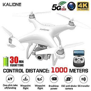 Kalione k777 gps 4k com câmera  5g wifi fpv brushless profissional