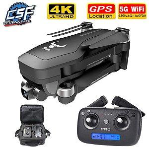 Sg906 Pro c/ camera 4k gps distância 1.2km vôo 25 min