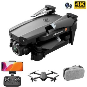 Mini Drone XT6 4k câmera dupla wifi fpv quatro-eixo