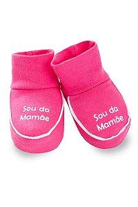 Sapatinho Com Frases Infantil Bebê Menina Salmão - Fantoni