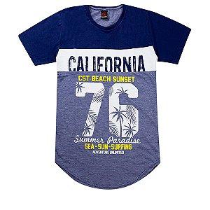 Camiseta Infantil Masculina California Marinho - Costão Mini