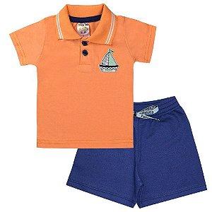 Conjunto Infantil Menino Camisa Pólo - Fantoni