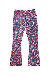 Calça Legging Infantil Menina Estampa Rotativa Azul