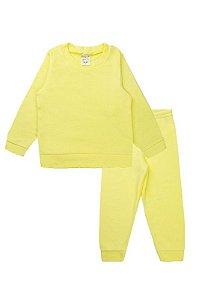 Conjunto Infantil Menino Soft Amarelo Fantoni
