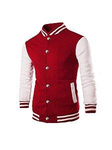 Blusa jaqueta casaco moletom college baseball bomber