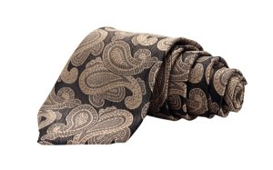 Gravata tradicional clássica trabalhada