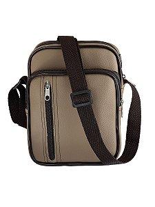 Bolsa shoulder bag pochete transversal impermeável