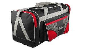 Bolsa mala de viagem grande 112l alças de mão e ombro