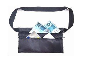 Pochete porta dolar doleira money belt anti-furto