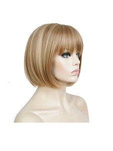 Peruca cabelo orgânico curta