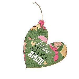 Tag Coração Amar atrai amor