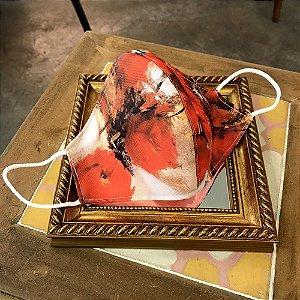 Máscara de Tecido Rosas