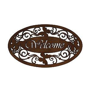 Placa Welcome - Angélica Ranzi