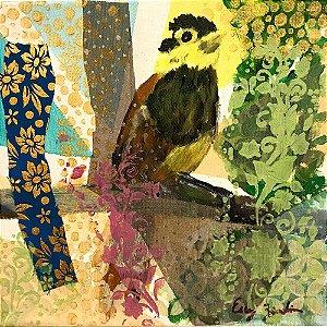 Tela Pássaros I - Ercy Zendim