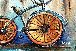Tela Bicicleta Vintage - Luiza Matilde