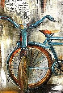 Tela Bicicleta Retrô - Luiza Matilde
