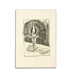 Litogravura Castiçal - Anastácio Orlikowski