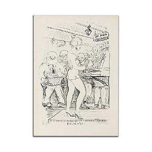 Litogravura Belvedére - Anastácio Orlikowski
