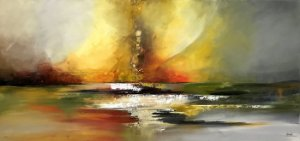 Tela Nascer do Sol - Marlene Dal Zotto