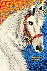 Tela Cavalo do Parque - Angélica Ribeiro
