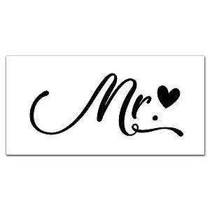 Placa Mr. ♥
