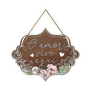 Tag de Porta O Amor Vive Aqui