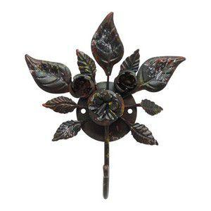 Cabideiro Floral Rústico Pequeno