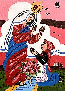 Tela Nossa Senhora de Caravaggio - Lucas Lourenço