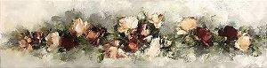 Tela Rosas Encantadas  - Marlene Dal Zotto