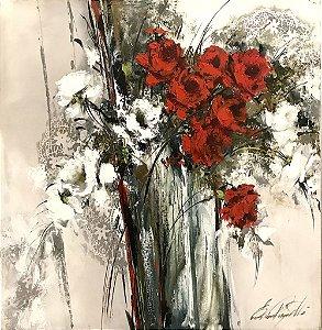 Tela Vermelho Magnífico - Eliane Pasquetti