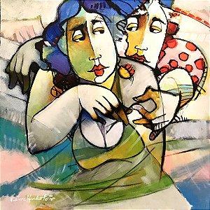 Giclê Abraço  - Victor Hugo