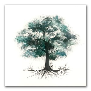 Tela Árvore da Serenidade I - Zilá Nodari