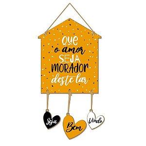Casa Corações Que o amor seja morador