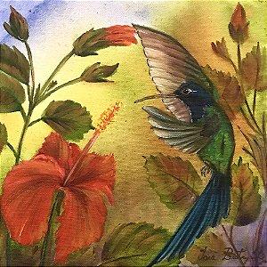 Tela Beija-Flor II - Iara Beatriz