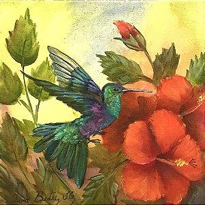 Tela Beija-Flor III - Iara Beatriz