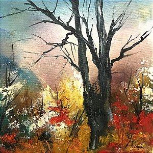 Tela Floresta de Outono II - Marlene Dal Zotto