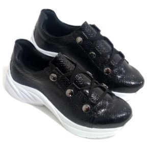 Sneaker Croco Preto