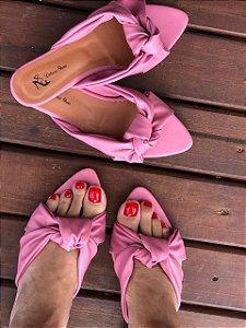 Rasteira Cruzada Pink
