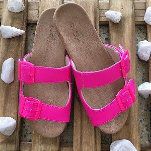 Rasteira Birken Pink Neon