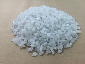 Grão De Quartzo - Malha 4 Dióxido De Silício Branco