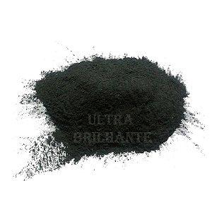 Oxido De Aluminio Preto Ultra Brilhante - Malha 120