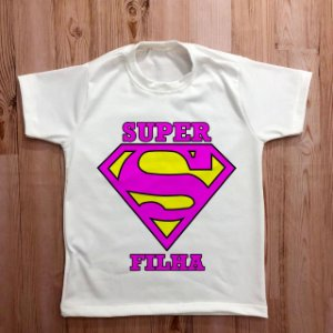 KIT 029 - FILHA SUPER MAN LOGO