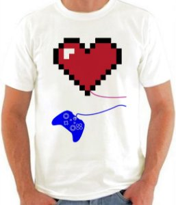 KIT CASAL - GAME OVER - MASCULINA