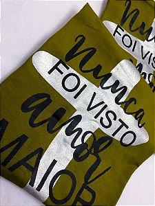 T-SHIRTS FEMININA VISCOLYCRA VERDE NUNCA FOI VISTO