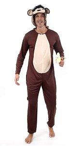 Fantasia Macaco Monkey Masculino Adulto
