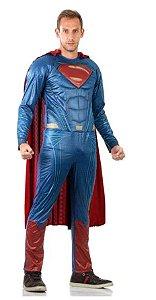 Fantasia Super Homem Adulto - Liga da Justiça