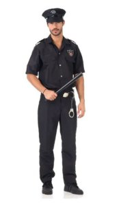 Fantasia Policial Masculino Adulto