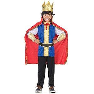 Fantasia Rei Infantil Luxo - Era uma vez
