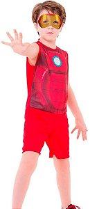 Fantasia Homem De Ferro Pop Infantil